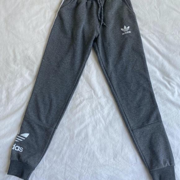 Grey Adidas rare sweatpants